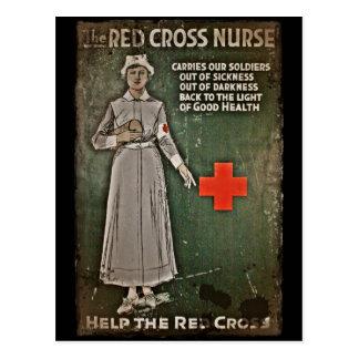 WWI Krankenschwester-Spendenaktion-Bilder Postkarte