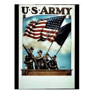 Wwii Armee-Neuzugang Postkarte