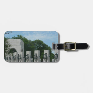 WWII Denkmal windt II im Washington DC Gepäckanhänger