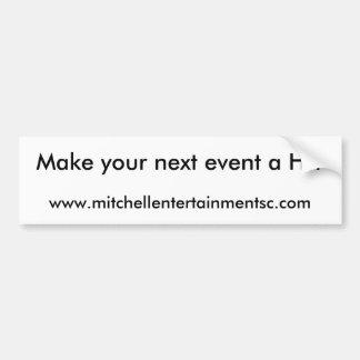 www.mitchellentertainmentsc.com, font votre procha autocollant de voiture