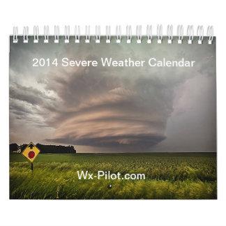 Wx-Pilot Unwetter-Kalender 2014 Kalender