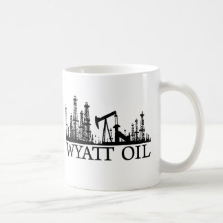 Wyatt Öl/schwarzes Logo Kaffeetasse