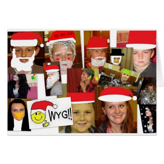 WYG Weihnachten 2010 - 3 Grußkarte