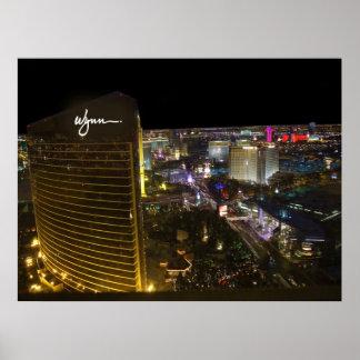 Wynn Las Vegas Antennen-Plakat Poster