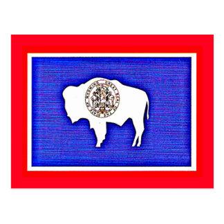 Wyoming der Gleichheits-Staat Postkarte