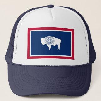 Wyoming-Flagge Truckerkappe