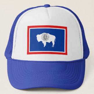 Wyoming-Flaggen-Hut Truckerkappe