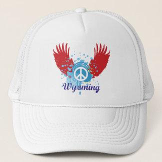 Wyoming-Friedenszeichen Truckerkappe