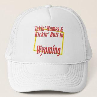 Wyoming - Kickin Hintern Truckerkappe