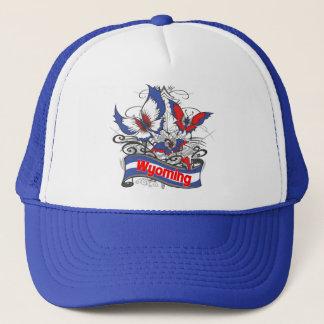 Wyoming-Patriotismus-Schmetterling Truckerkappe