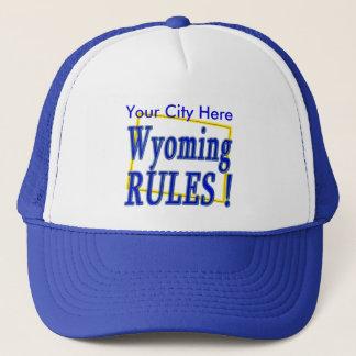 Wyoming-Regeln! Truckerkappe