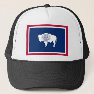 Wyoming-Staats-Flagge Truckerkappe
