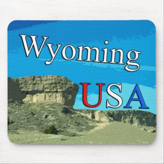 Wyoming USA Mousepad