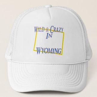 Wyoming - wild und verrückt truckerkappe