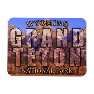 Wyomings großartiger Teton Nationalpark-Magnet Magnet