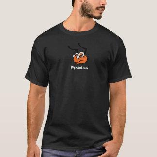 WyzAnt Logo-T-Shirt - Schwarzes T-Shirt