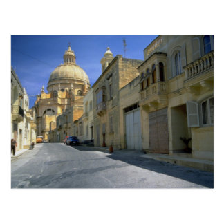 Xewkija Haube (das Rundbau), Xewkija, Gozo, Malta Postkarte