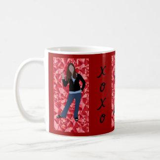 XOXO Mädchen Kaffeetasse