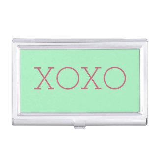 XOXO Visitenkarte-Halter Visitenkarten-Behälter
