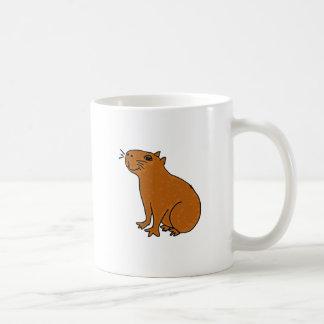 XX Capybara-Kunst Kaffeetasse