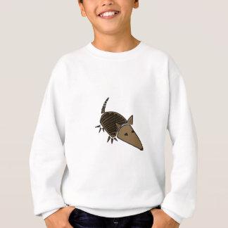 XX flippige Gürteltier-Kunst Sweatshirt