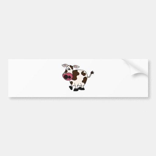 XX lustiger Kuh-Entwurf Autosticker