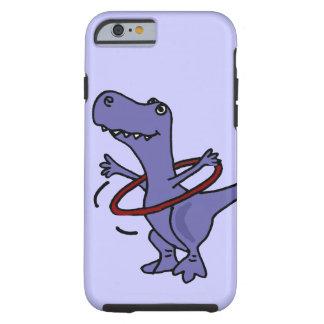 XX lustiger T-rex Dinosaurier unter Verwendung Tough iPhone 6 Hülle