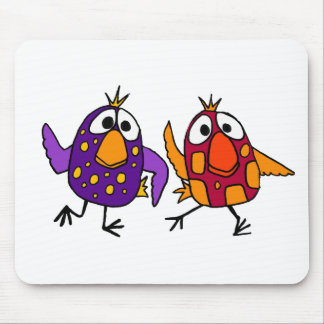 XX unglaublich witzig Tanzen-Vogel-Cartoon Mousepad