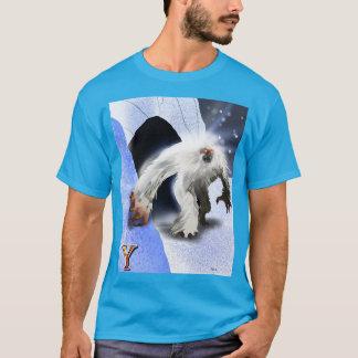 Y ist für Yeti T-Shirt