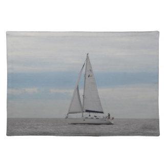 Yacht-Spatzen-Geschenke Stofftischset