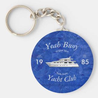 Yachtclub-ja Boje Schlüsselanhänger