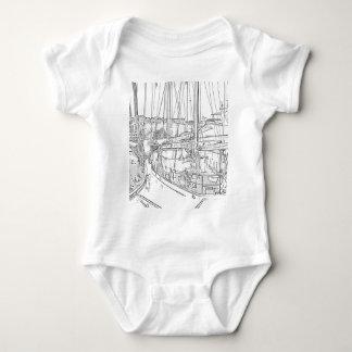Yachthafen Monaco Baby Strampler