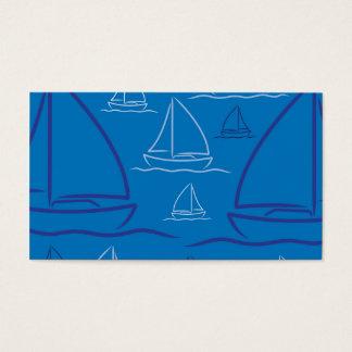 Yachtmuster Visitenkarte