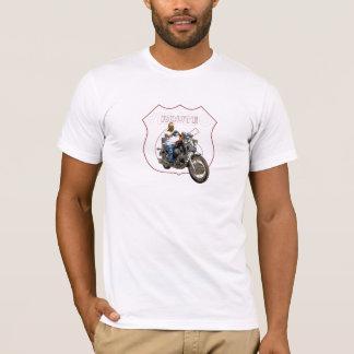 Yamahavirago-klassischer Motorrad-Weg 66 T-Shirt