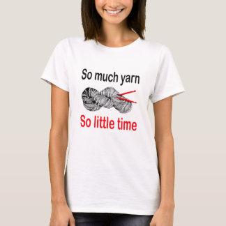 Yarn soviel, also wenig Zeit - Häkelarbeit T-Shirt