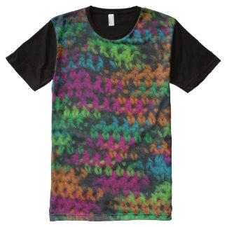 Yarning für Sie… Funkfarben T-Shirt Mit Komplett Bedruckbarer Vorderseite