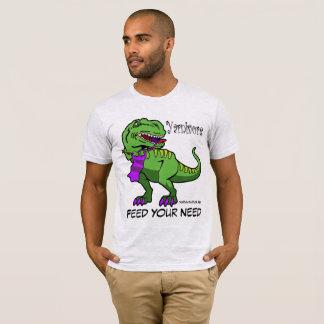 Yarnivore Yarnivaurus Rex T-Shirt