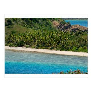 Yasawas Strand, Fidschi Postkarte