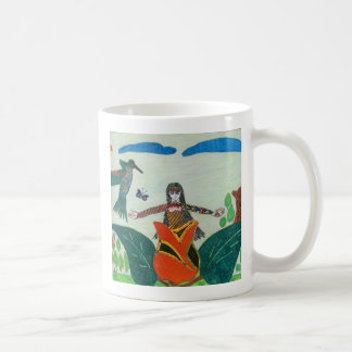 Yawanawa Kunst von Amazonas Kaffeetasse