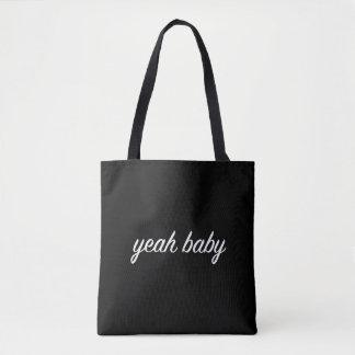 yeah Baby-Taschentasche Grunge tumblr ästhetisch Tasche