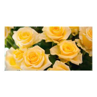 yellow flower photocarte personnalisée