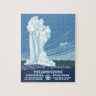 Yellowstone Nationalpark Andenken