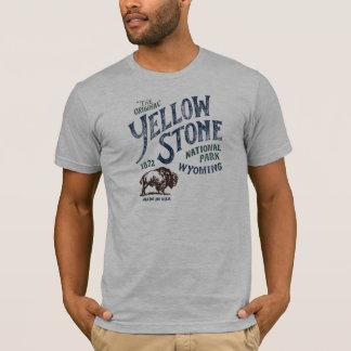Yellowstone Nationalpark Bison-Wyoming-Shirt T-Shirt