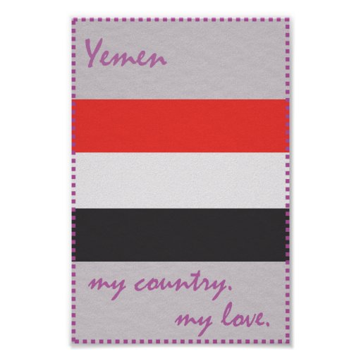 Yemen mein Land meine Liebe Poster