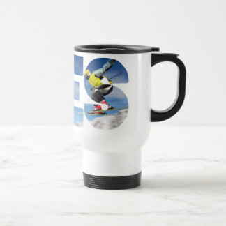 Yes to ski jumping edelstahl thermotasse