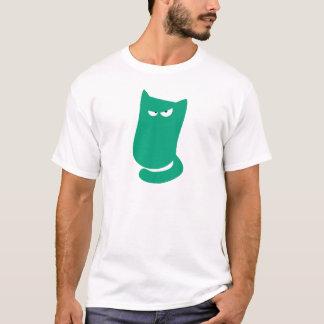 Yeux verts se reposants de Dissaproval de paquet T-shirt