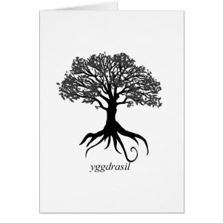 Yggdrasil Baum des Lebens Karte