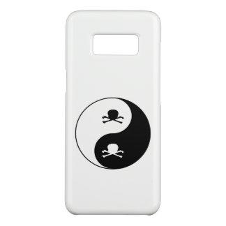 Yin und Yang-Schädel Case-Mate Samsung Galaxy S8 Hülle