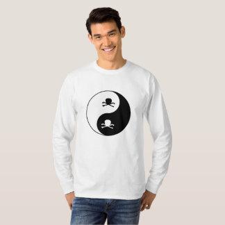 Yin und Yang-Schädel T-Shirt