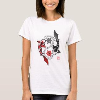 Yin und Yangs Koi Fische T-Shirt